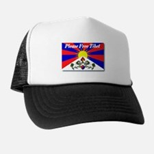 Please Free Tibet Trucker Hat