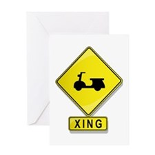 Scooter XING Greeting Card