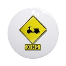 Scooter XING Ornament (Round)