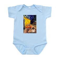 Cafe /Pekingese (r) Infant Bodysuit