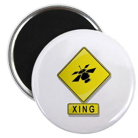Satellite XING Magnet