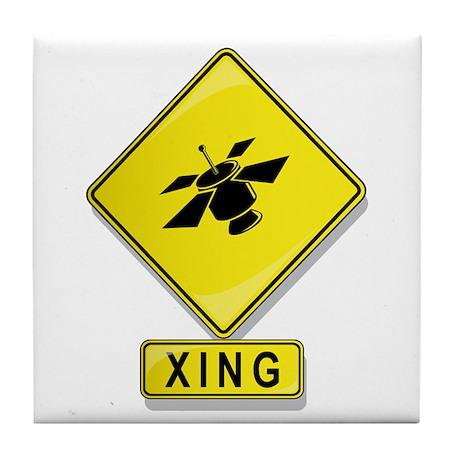 Satellite XING Tile Coaster