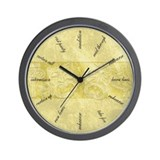 Actress Wall Clocks