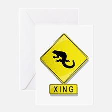 Salamander XING Greeting Card