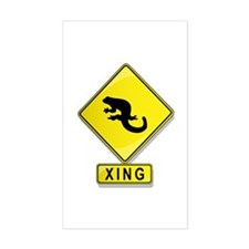 Salamander XING Rectangle Decal
