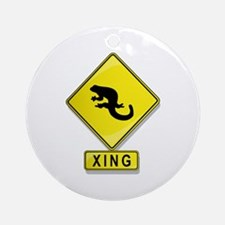 Salamander XING Ornament (Round)