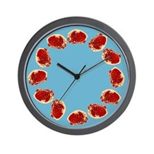Meat Wall Clock