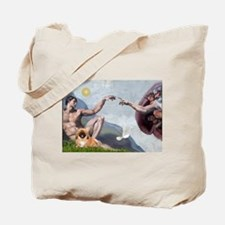 Creation/Pekingese(r) Tote Bag