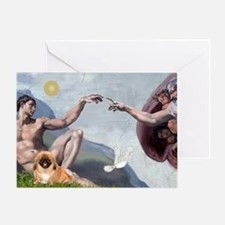 Creation/Pekingese(r) Greeting Card