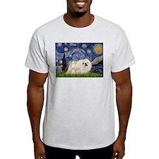 Starry / Pekingese(w) T-Shirt