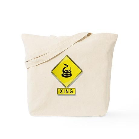 Rattlesnake XING Tote Bag