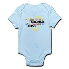 Daddy SOLDIER Mommy Boss Infant Bodysuit