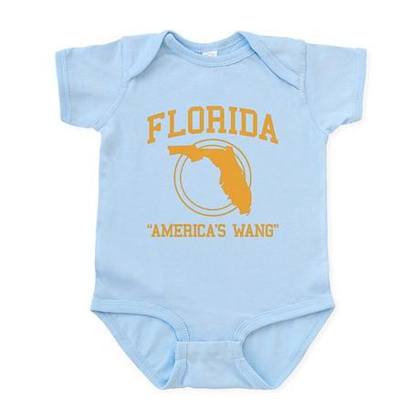 Florida America's Wang Infant Bodysuit