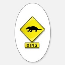 Platypus XING Oval Decal