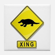 Platypus XING Tile Coaster
