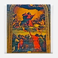 Assumption of the Virgin Tile Coaster