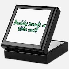 Time Out Dad Keepsake Box