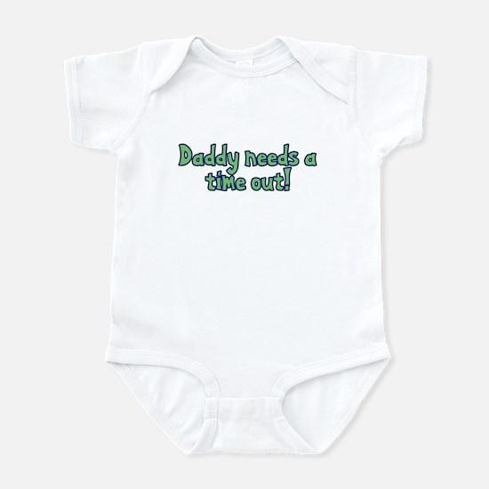 Time Out Dad Infant Bodysuit