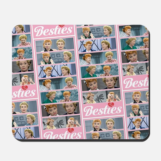 I Love Lucy: Besties Pattern Mousepad