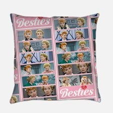 I Love Lucy: Besties Pattern Everyday Pillow