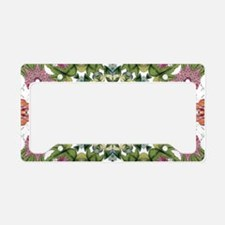 bohemian Chic boho floral License Plate Holder