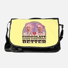 I Love Lucy: Chocolate Makes Everyth Messenger Bag
