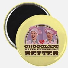 I Love Lucy: Chocolate Makes Everything Bet Magnet