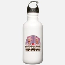 I Love Lucy: Chocolate Water Bottle