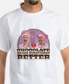 I Love Lucy: Chocolate Makes Everyth Shirt