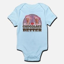 I Love Lucy: Chocolate Makes Every Infant Bodysuit