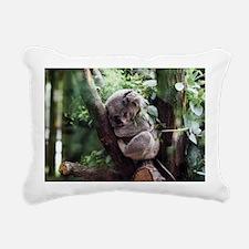 Funny Koala Rectangular Canvas Pillow