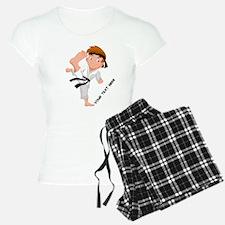 PERSONALIZED KARATE BOY Pajamas