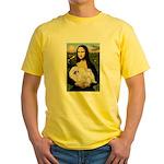 Mona /Pekingese (w) Yellow T-Shirt