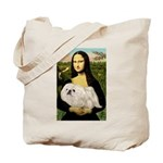 Mona /Pekingese (w) Tote Bag