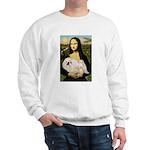 Mona /Pekingese (w) Sweatshirt