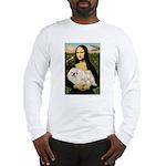 Mona /Pekingese (w) Long Sleeve T-Shirt