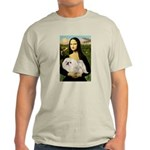 Mona /Pekingese (w) Light T-Shirt