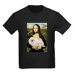Mona /Pekingese (w) Kids Dark T-Shirt