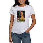 Fairies / Pekingese(r&w) Women's T-Shirt