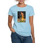 Fairies / Pekingese(r&w) Women's Light T-Shirt