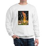 Fairies / Pekingese(r&w) Sweatshirt