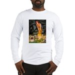 Fairies / Pekingese(r&w) Long Sleeve T-Shirt
