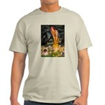 Fairies / Pekingese(r&w) Light T-Shirt