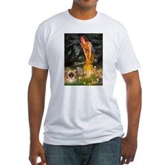 Fairies / Pekingese(r&w) Shirt