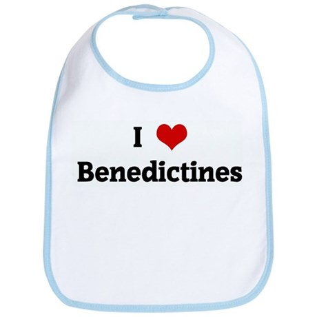 I Love Benedictines Bib