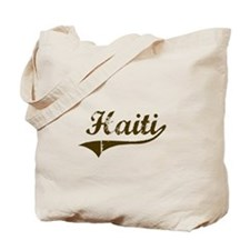 Vintage Haiti Tote Bag
