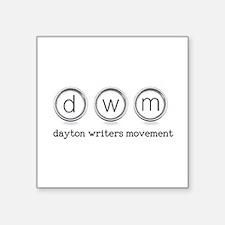 Dayton Writers Movement Sticker