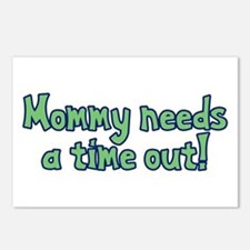 Time Out Mom Postcards (Package of 8)