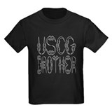 Coast guard brother Kids T-shirts (Dark)