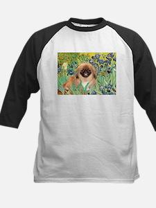 Irises / Pekingese(r&w) Tee